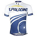 cheap Armwarmers & Legwarmers-ILPALADINO Men's Short Sleeve Cycling Jersey Bike Jersey, Quick Dry Polyester, Coolmax®