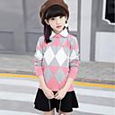 זול ילדים אביזרים לשיער-בנות כותנה מכנסיים - אחיד / דפוס / גאומטרי ורוד מסמיק / קצר