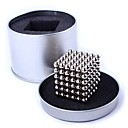 billige Puslespill i tre-216 pcs 5mm Magnetiske leker Magnetiske kuler / Byggeklosser / Puzzle Cube Magnetisk Voksne Gave