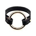 cheap Men's Bracelets-Men's Women's Leather Bracelet - Leather Simple Style, Fashion Bracelet Black / Coffee For Daily Going out