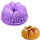 preiswerte Backformen-Backwerkzeuge Silica Gel Backen-Werkzeug Für den täglichen Einsatz Kuchenformen 1pc