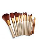 baratos Conjuntos de Pincéis de Maquiagem-12pcs Profissional Pincéis de maquiagem Conjuntos de pincel Pêlo Sintético Batom / Sobrancelha / Sombra de olho