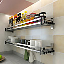 baratos Prateleiras e Suportes-1pç Titulares de panelas Liga de Aluminio Fácil Uso Organização de cozinha