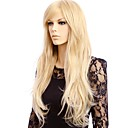 cheap Synthetic Capless Wigs-Synthetic Wig Straight Blonde Synthetic Hair Blonde Wig Women's Long Capless