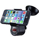 baratos DVD Player para Carros-bluetooth kit mãos livres do carro bluetooth fm transmissor fm09 suporte do telefone