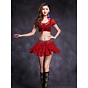 cheap Belly Dance Wear-Belly Dance Outfits Women's Performance Lace Short Sleeve Natural Skirts Top