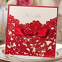 זול הזמנות לחתונה-הזמנות ומעטפות הזמנות לחתונה 20 - כרטיסי הזמנה סגנון קלאסי נייר עם תבליטים
