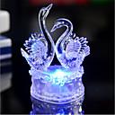 זול חפצים דקורטיביים-1pcs ברבור מלאכת יד 7 צבע שינוי אשליה רומנטית מסיבת חג הטבלה