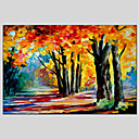cheap Landscape Paintings-Oil Painting Hand Painted - Landscape Classic & Timeless Canvas