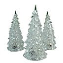 お買い得  クリスマスデコレーション-ledバッテリー電源ランプ7色の夜の光机のテーブルトップクリスマスツリーの装飾祭りパーティー