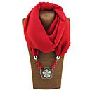preiswerte Läufer und Teppiche-Damen Grundlegend Infinity-Schal Solide