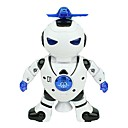 cheap Robots-RC Robot Kids' Electronics ABS Singing Dancing Walking Multi-function Remote Control Fun Classic Children's