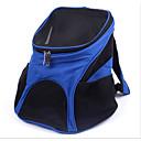abordables Básicos de Viaje para Perros-Gato Perro Transportines y Mochilas de Viaje Mascotas Portadores Portátil Transpirable Un Color Negro Azul Oscuro Azul