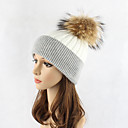 cheap Eyeshadows-Women's Hat Wool Floppy Hat Ski Hat - Color Block Patchwork