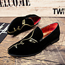 cheap Men's Slip-ons & Loafers-Men's Formal Shoes Suede Fall / Winter Comfort Loafers & Slip-Ons Black / Wedding / Party & Evening