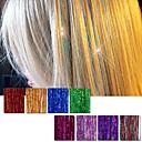 preiswerte Synthetische Haarverlängerungen-Echthaar Haarverlängerungen Glatt Klassisch Echthaar Haar-Verlängerung Cross Type Alltag