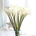 cheap Hair Jewelry-Artificial Flowers 10 Branch European Calla Lily Tabletop Flower