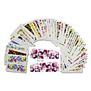 cheap Nail Stickers-48pcs/set Water Transfer Sticker / Nail Sticker Flower / Nail Decals Stickers