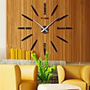 "cheap DIY Wall Clocks-Wall Clock,Casual Modern Contemporary Office / Business Stainless Steel EVA 2"" Diamond Indoor / Outdoor Indoor"