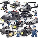cheap Building Blocks-SHIBIAO Building Blocks 359pcs Classic / New Design Vehicles / Police Simple / DIY Contemporary / Classic & Timeless / Chic & Modern