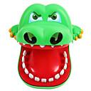 baratos Jogos de Tabuleiro-Dentista De Crocodilo Peixes / Crocodilo Tamanho Grande / Mordida de mão Crianças / Adulto Unisexo