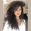 זול פיאות תחרה משיער אנושי-שיער אנושי 360 פרונטאלית פאה שיער ברזיאלי מתולתל 360 חזיתית פאה 130% צפיפות שיער עם שיער בייבי שיער טבעי פאה אפרו-אמריקאית בגדי ריקוד נשים קצר בינוני ארוך פיאות תחרה משיער אנושי / מסולסל