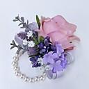 cheap Wedding Flowers-Wedding Flowers Wrist Corsages Wedding Polyester 3.94 inch