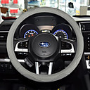 cheap Steering Wheel Covers-Steering Wheel Covers Leather 38cm Gray / Coffee / Black / Red For universal
