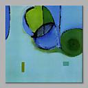 baratos Pinturas Abstratas-Pintura a Óleo Pintados à mão - Abstrato Artistíco Incluir moldura interna / Lona esticada