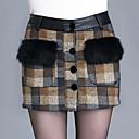 preiswerte Modische Armbänder-Damen Übergrössen Bodycon Röcke - Geometrisch