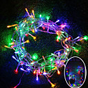 cheap Night Lights-10m String Lights 100 LEDs SMD 0603 Warm White / RGB / White Waterproof / Color-Changing 220 V / 110 V 1pc / IP65