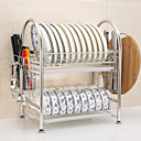 cheap Coffee and Tea-Kitchen Organization Cookware Holders Stainless Steel Easy to Use 1pc