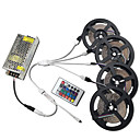 cheap LED Strip Lights-20m Light Sets 1200 LEDs 3528 SMD RGB Cuttable / Dimmable / Linkable 100-240 V 1pc / Self-adhesive / Color-Changing