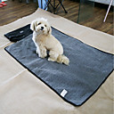 cheap Dog Beds & Blankets-Cat Dog Bed Pet Mats & Pads Solid Keep Warm Wateproof Black
