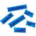olcso Sütőeszközök-Bakeware eszközök ABS Nem tapad / Letapadásgátló bevonat / Karácsony Torta / Cake / Cookie Sütőformák 6db