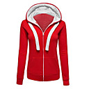 cheap Cake Molds-Women's Cotton Hoodie - Solid Colored Block