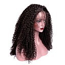 cheap Synthetic Lace Wigs-Synthetic Lace Front Wig Kinky Curly With Baby Hair Synthetic Hair Brown Wig Women's Long Lace Front
