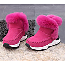 cheap Girls' Shoes-Girls' Shoes Suede Winter Comfort / Snow Boots Boots for Pink