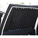 ieftine Pandative Auto & Ornamente-Automotive Umbrare Auto Negru de mașină Pentru Toyota 2015 2016 2017 Highlander Țesături