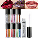 cheap Lip Stain-12 Colors Daily Makeup Makeup Tools Liquid Lip Gloss Sequins / Ammonia Free / Formaldehyde Free Dry / Wet / Shimmer Shimmer glitter gloss / Coloured gloss 1160 Cosmetic Daily Grooming Supplies
