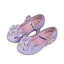 halpa Tyttöjen kengät-Tyttöjen Kengät Synteettinen Kevät kesä Comfort Tasapohjakengät Kristalleilla / Koristehelmillä / Paljeteilla varten Vaalea purppura /