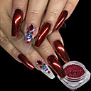 cheap Nail Stickers-1pc Powder / Glitter Powder / Nail Glitter Elegant & Luxurious / Mirror Effect / Sparkle & Shine Nail Art Design