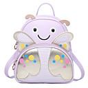 cheap Backpacks-Bags PU Kids' Bag Pattern / Print for Formal Black / Blushing Pink / Purple