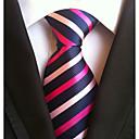 billige Tilbehør til herrer-Herre Kontor Grunnleggende Slips Stripet