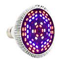 preiswerte LED Pflanzenlampe-YWXLIGHT® 1pc 12 W 1050-1150 lm E27 Wachsende Glühbirne PAR30 78 LED-Perlen SMD 5730 Dekorativ Lila 85-265 V
