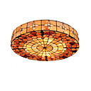 cheap Pendant Lights-Diameter 50cm Tiffany Ceiling Light Shell Shade Living Room Bedroom Dining Room Flush Mount