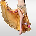 preiswerte Tanzzubehör-Bauchtanz Unten Damen Leistung Polyester / Chinlon Rüschen Niedrig Röcke