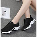 hesapli Kadın Atletik Ayakkabıları-Kadın's Atletik Ayakkabılar Örgü Rahat Yürüyüş Bahar / Sonbahar Mor / Kırmzı / Pembe / EU39