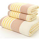 cheap Bath Towel Set-Fresh Style Bath Towel,Striped Superior Quality Polyester/Cotton Blend Towel