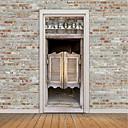 tanie Naklejki ścienne-Naklejki na drzwi - Naklejki ścienne 3D Sławne / Krajobraz / 3D Salon / Sypialnia / Gabinet / Pokój do nauki